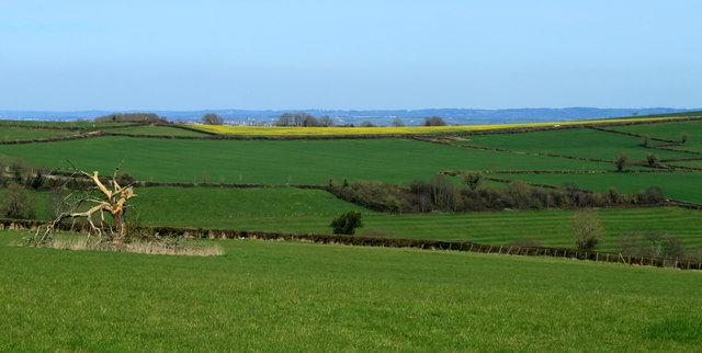 2012 : North east from a viewpoint near Rattledown Farm