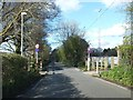 SX4773 : Road crossing between parts of the recreation ground by David Smith