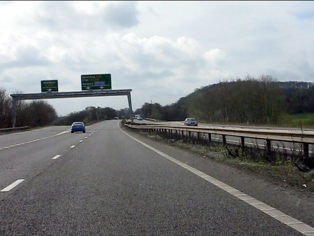 A46 - A452 junction for Warwick