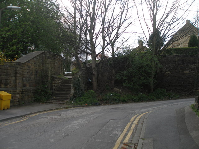 Steps to Hall Lane