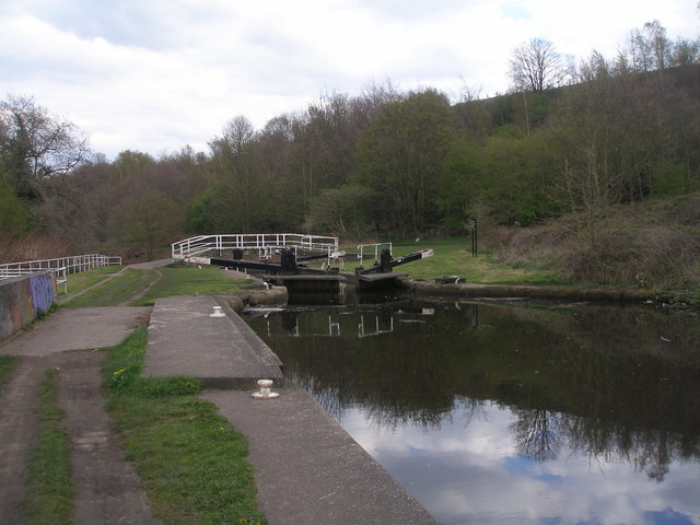 Millbank Lock, Calder and Hebble Canal