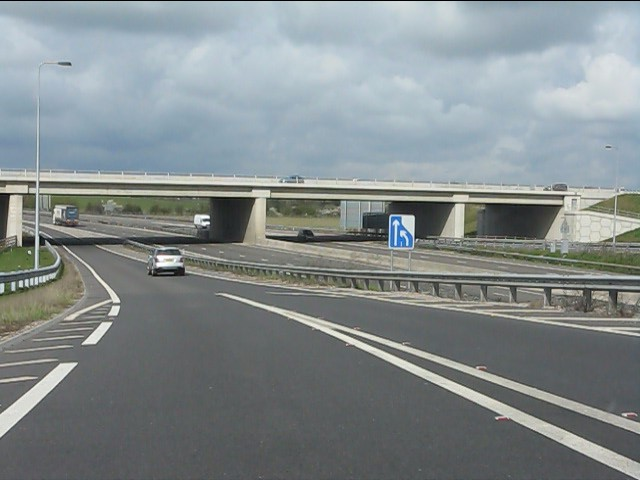 A46 bridge, M40, junction 15