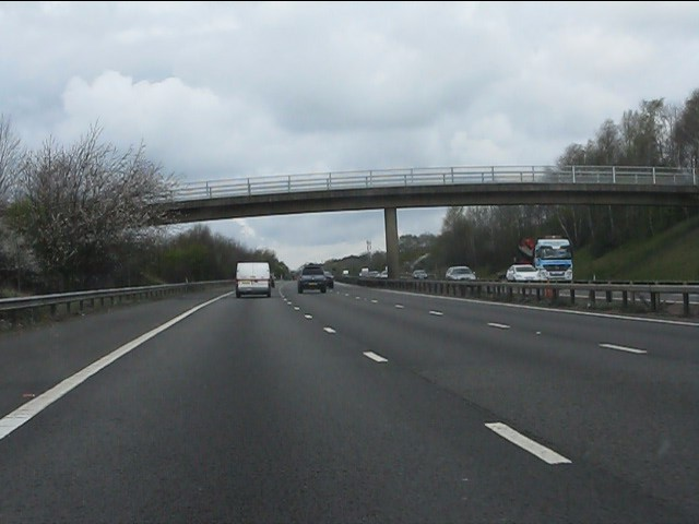 Horsley House Farm bridge, M40 motorway