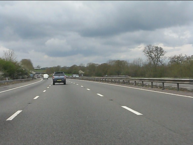 M40 in rural Warwickshire
