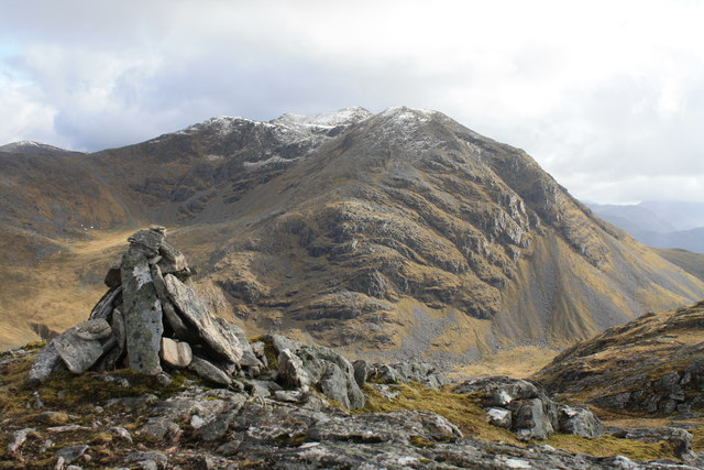 Summit of Beinn a' Chapuill
