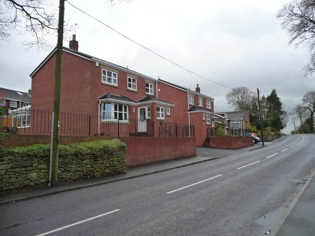 New houses on Front Street