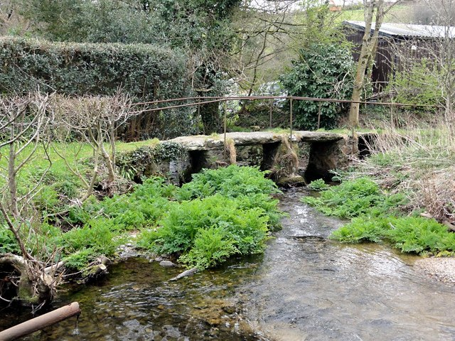 Clapper Bridge at Harbourneford