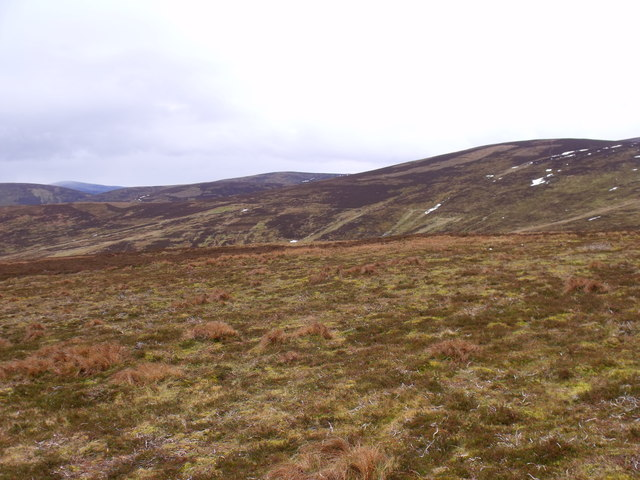 Slopes south of Mount Sned near Glen Lethnot