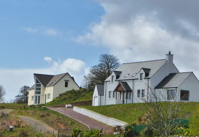 New houses in Ferindonald