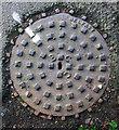J5181 : Manhole cover, Bangor by Rossographer