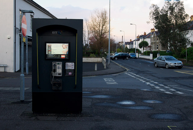Telephone box, Bangor