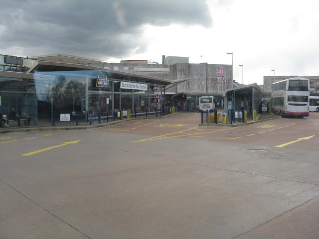 East Kilbride Bus Station and Shopping Centre