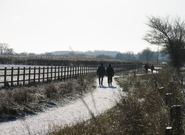 Footpath towards Egleton