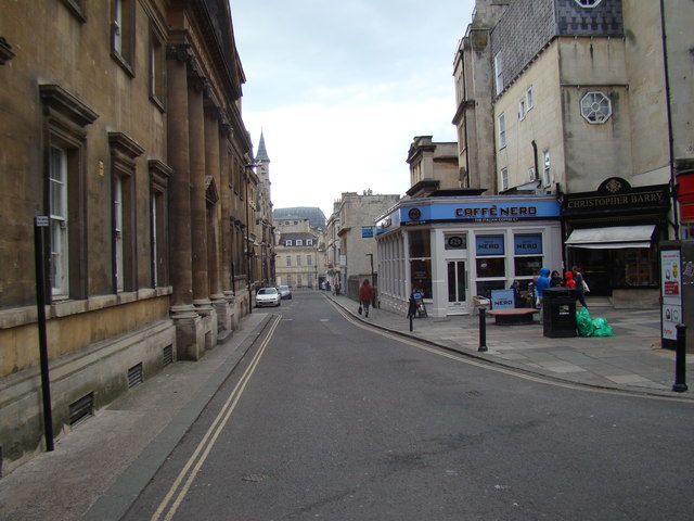 View along Upper Borough Walls from Union Street