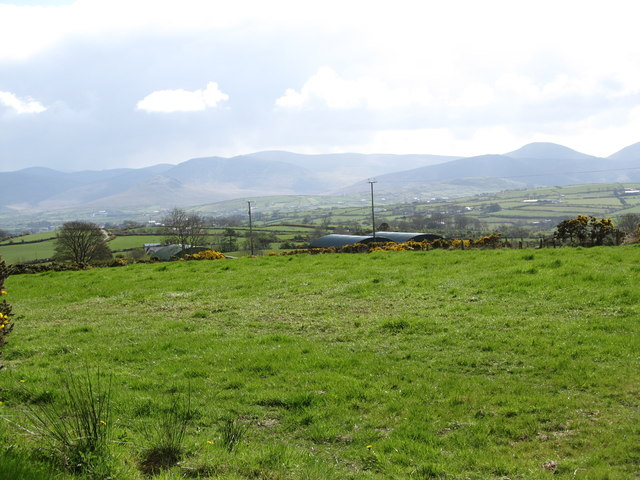 Pasture land and hay sheds south of Tamary Road