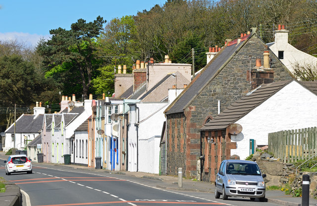 Cairnryan village - (1)