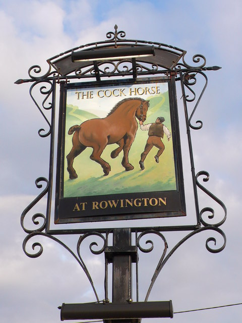 The Cock Horse Inn Pub Sign