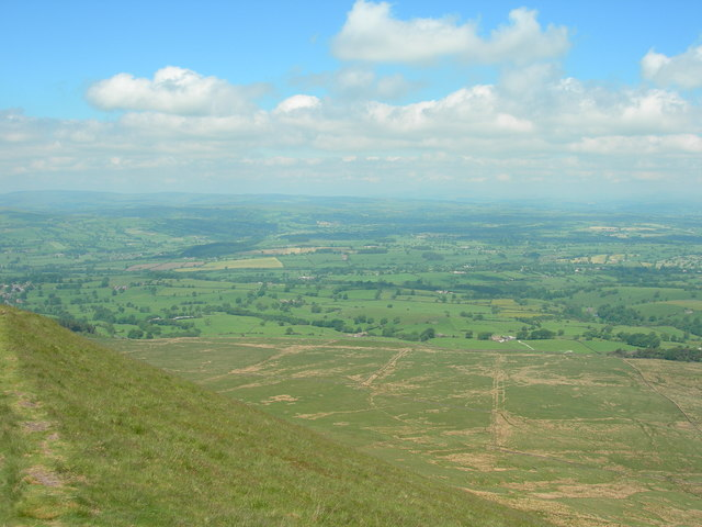View from Pendle Hill