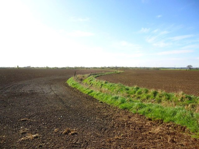 Lower Taylorton, field drain