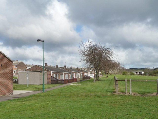 Bungalows on Northleigh, Tanfield Lea