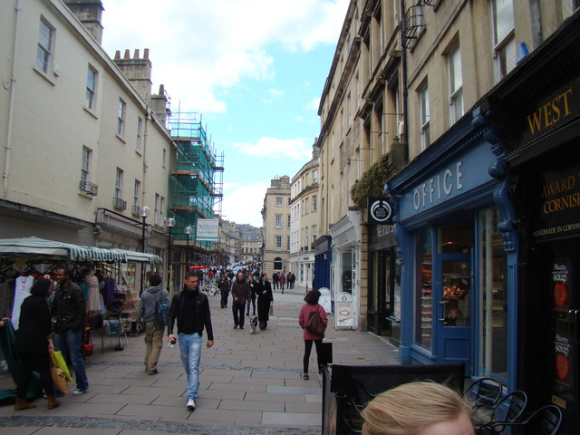 View up Burton Street
