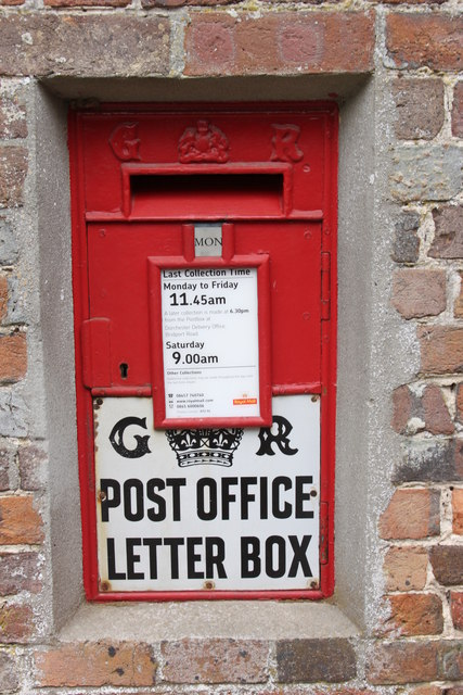 Post Box at Morton