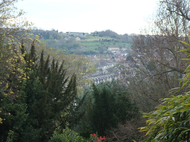 View of the hills from Royal Victoria Park