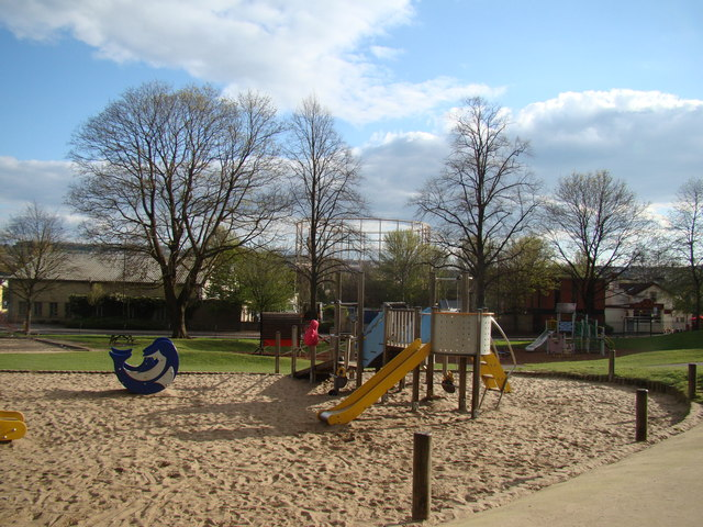 View Of The Children S Play Area From 169 Robert Lamb Cc