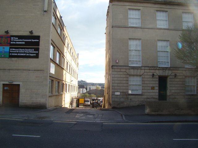 View of the Midland Road Industrial Estate