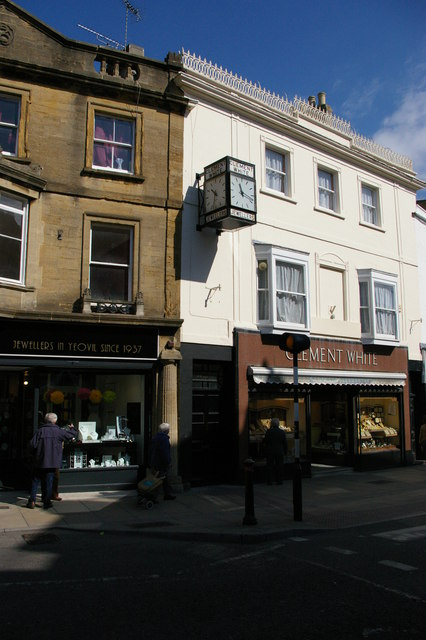 Jewellers' shops, High Street, Yeovil