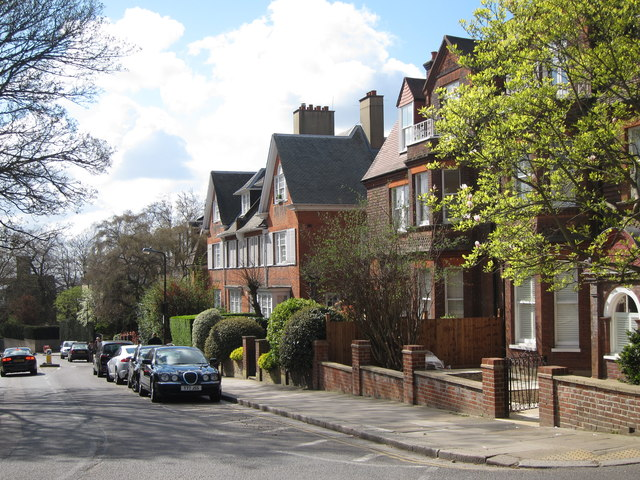 Houses on Frognal
