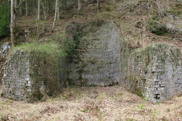 Ruin at Pontneddfechan Gunpowder Works