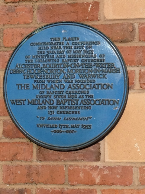 Plaque, Warwick Baptist Church, Castle Hill