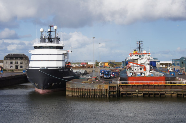 Dry dock at Aberdeen