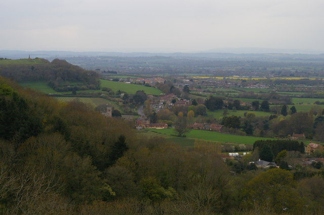 East Stoke from St Michael's Hill