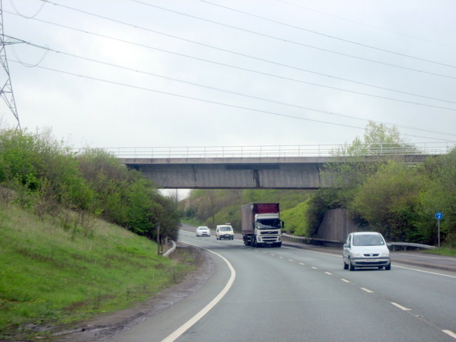 Railway Bridge over A5124
