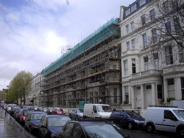 Scaffolding Pennywern Road Earls Court London