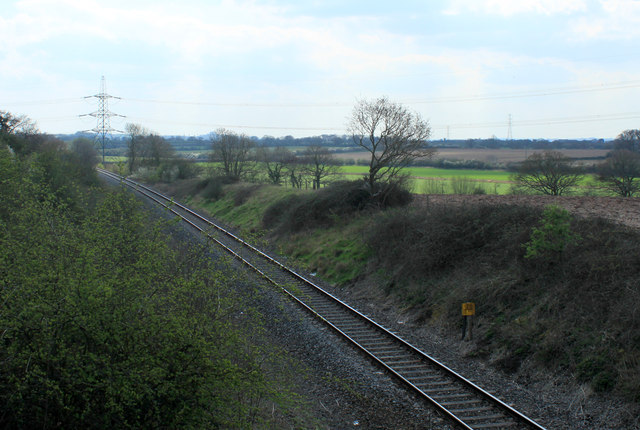 2012 : Railway side line north of Westerleigh