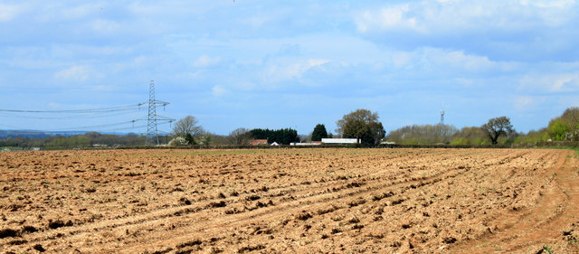 2012 : Farmland west of Nibley Lane