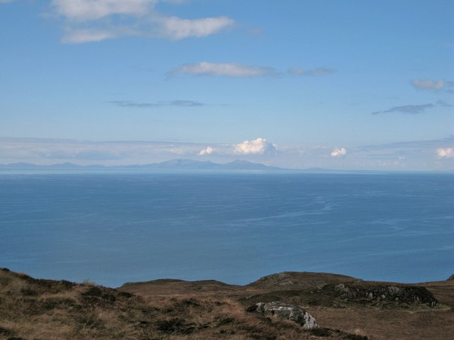 South Uist from Skye