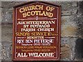 NT2196 : Auchterderran Parish Church by Richard Webb