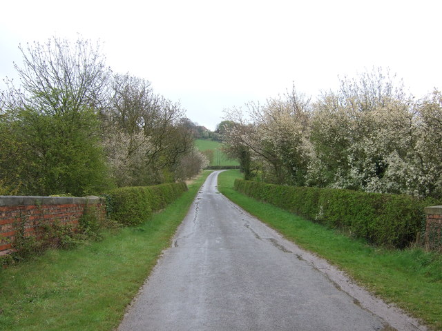 Skinnand Lane towards Wellingore