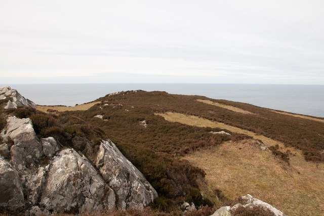Just below the summit of Cnoc Uamh nam Fear, Islay