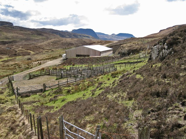 Sheepfold and barn