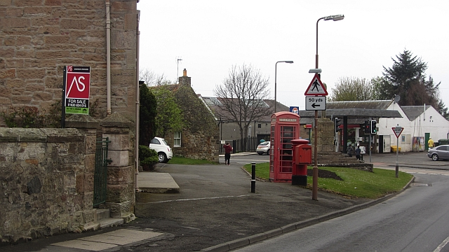 Telephone box, Pencaitland