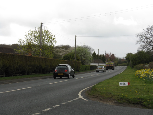 A4117 from Pound Lane