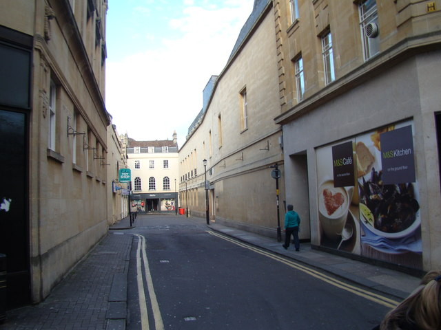 View along Abbeygate Street from Stall Street