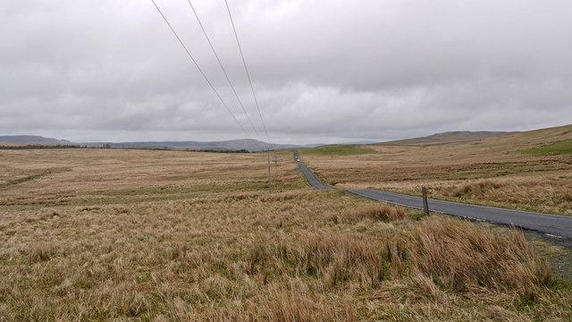 Moorland beside B741