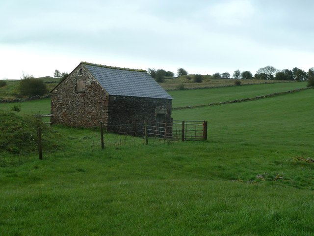 Field barn near Blakelow Farm