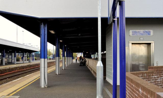 Platform, Ballymena station (1)